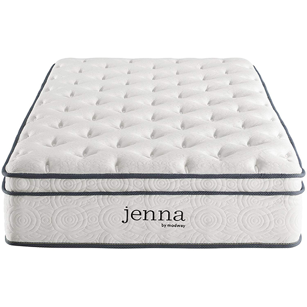 Modway Jenna Quilted Innerspring Mattress with Pillow Top