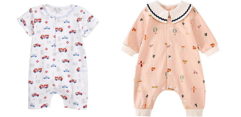 Baby rompers make dressing your little one a snap. The simple one-piece essentials are designed in a relaxed fit to keep babies decked in comfortable daywear that allows them to move about freely during playtime (and through nap time).  …