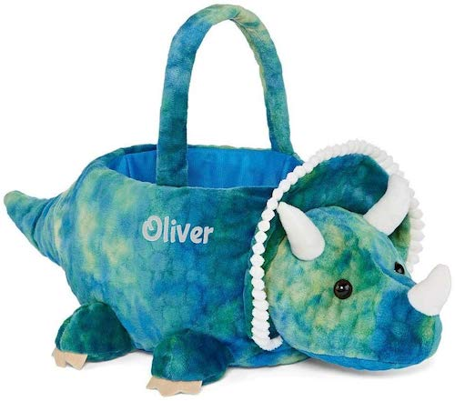 DIBSIES Personalized Plush Easter Basket