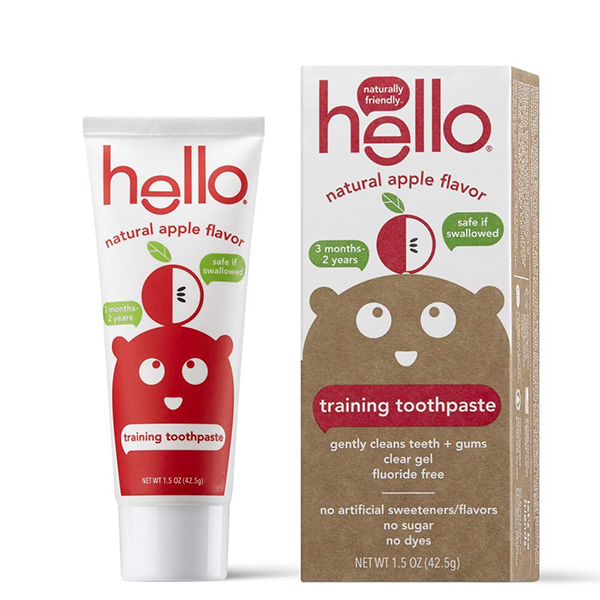 Hello Oral Care Training Toothpaste for Toddlers