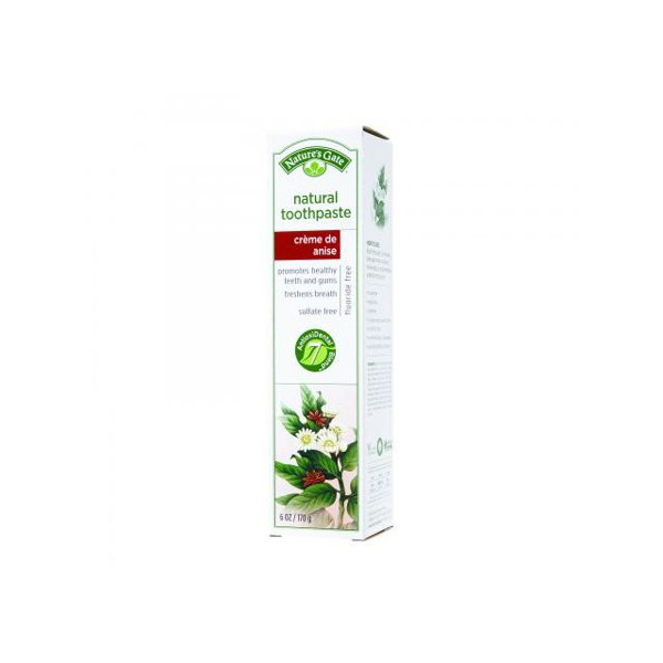 Nature's Gate Fluoride-Free Toothpaste Wintergreen Gel 2-Pack