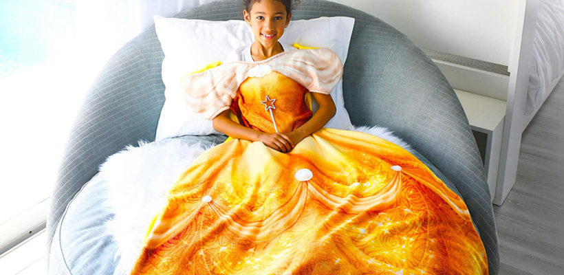It's a dream come true when we get a new product to add to our Disney obsession… er, collection. Amazon is currently selling Blankie Tails Disney Princess Dress Wearable Blankets, and we can't get enough. In addition to being so…