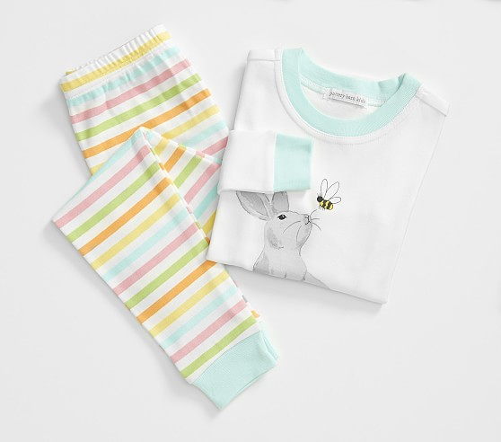 Pottery Barn Kids Easter Tight Fit Pajama