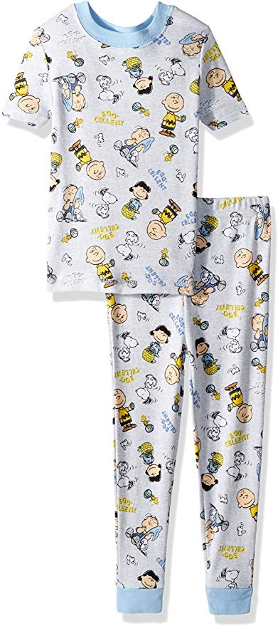 Peanuts Boys' Toddler Easter 2 Piece Cotton Set