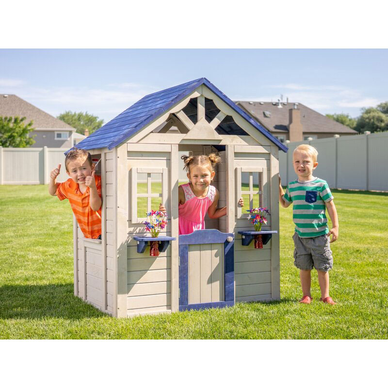 Sportspower Solid Wood Playhouse
