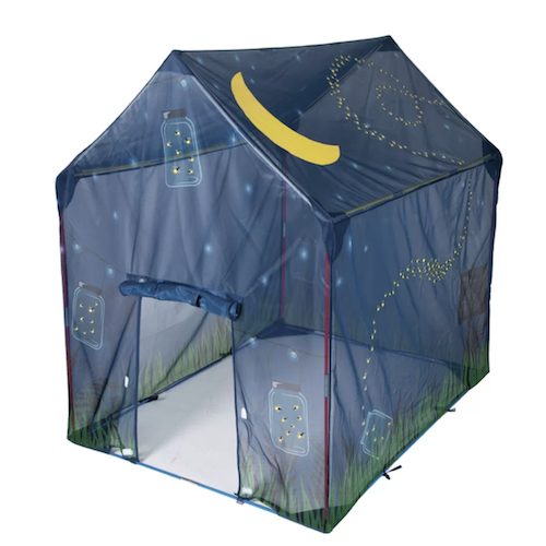 Pacific Play Glow in the Dark Firefly Play Tent With Carrying Bag
