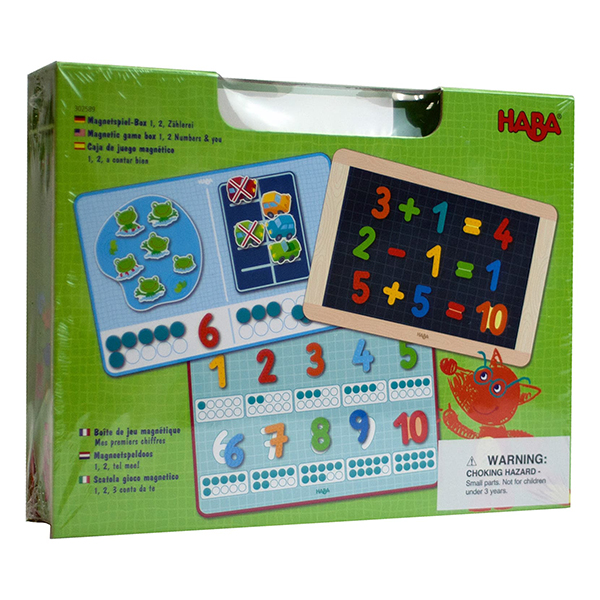 HABA Magnetic Number Math Game Box