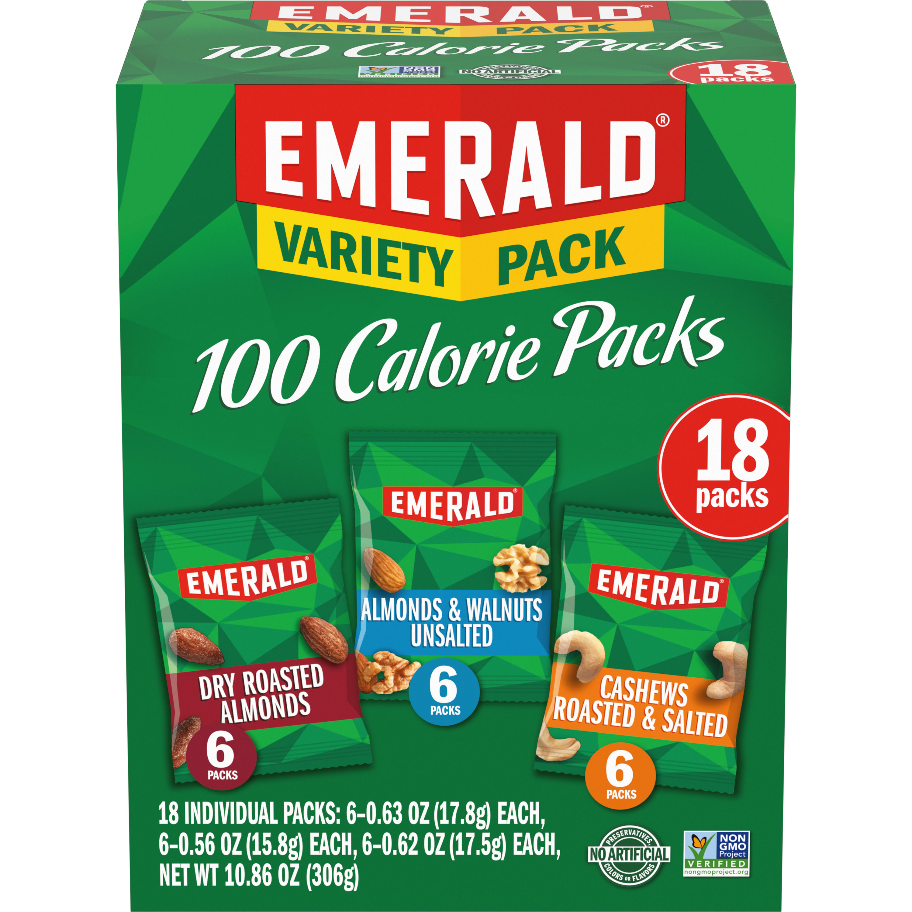 Emerald Nuts Variety Pack