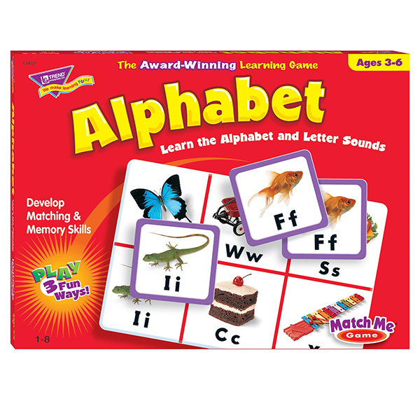 Match Me Alphabet Learning Game