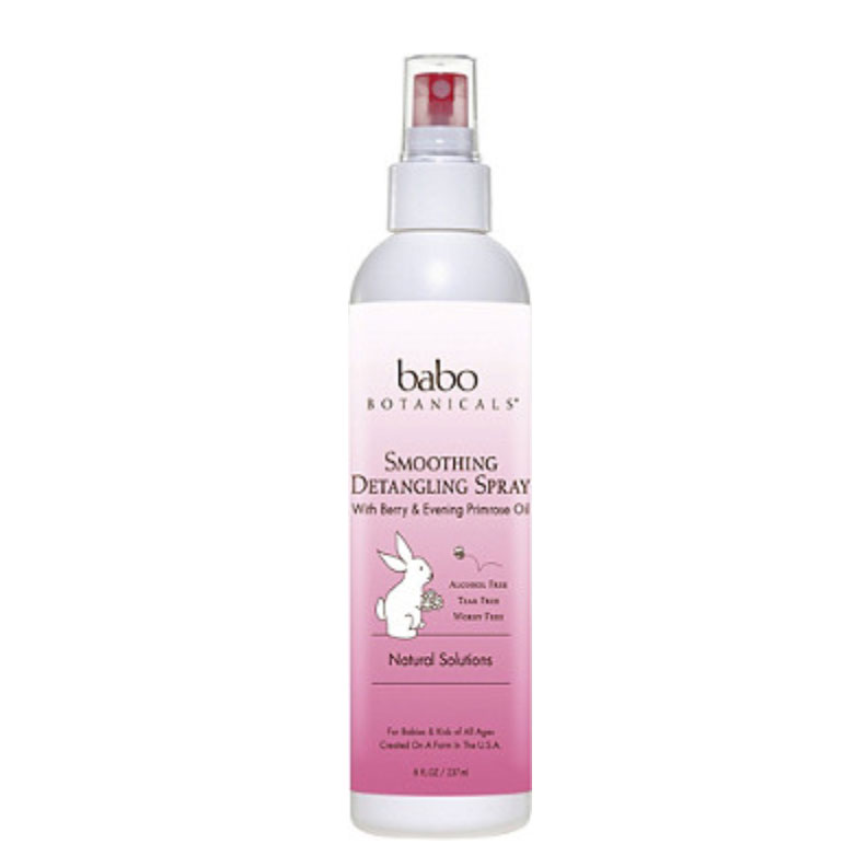 Babo Botanicals Smoothing Detangling Spray