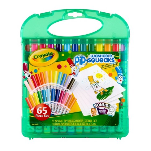 Crayola Pip-Squeaks Washable Marker Set with Case