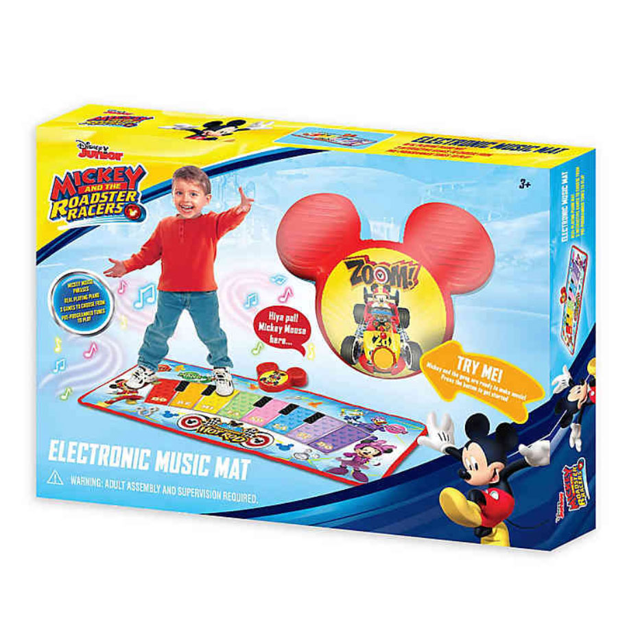 Disney Mickey and the Roadster Racers Electronic Music Mat