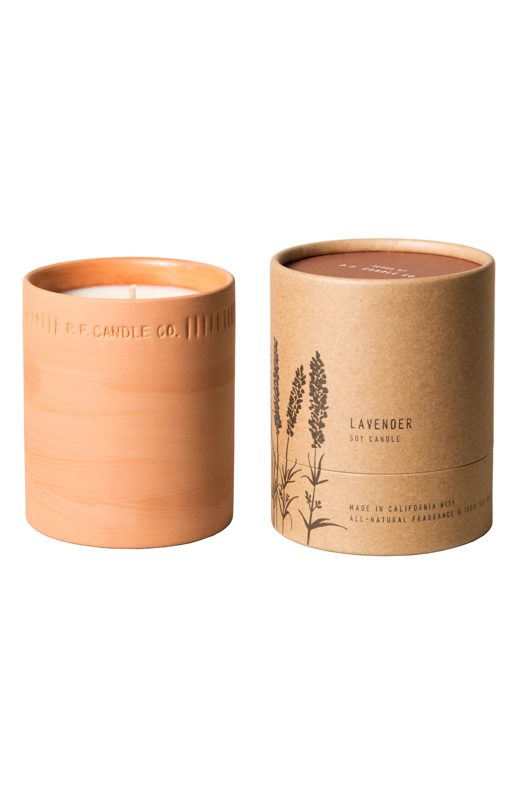 P.F. Candle Co. Lavender Terra Candle