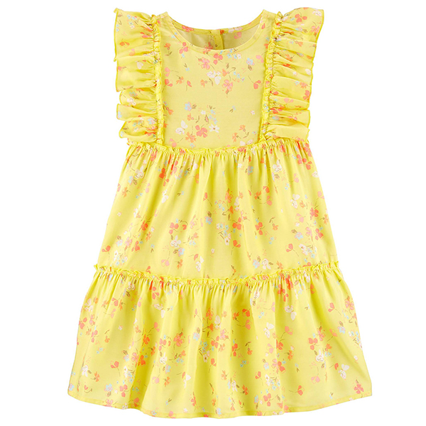 OshKosh B'gosh Floral Dress in Yellow