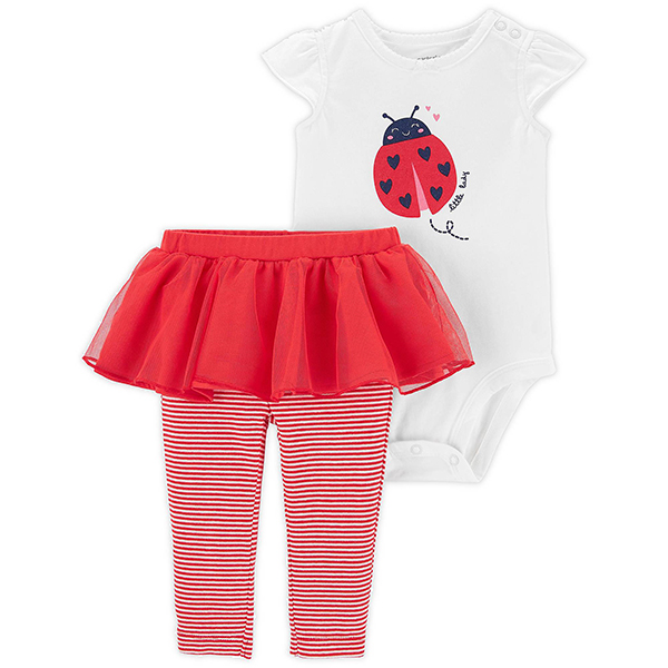 Carter's 2-Piece Ladybug Bodysuit and Tutu Pant
