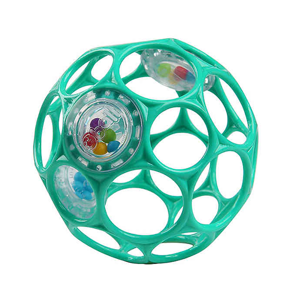 Oball Bright Starts Rattle Easy-Grasp Toy