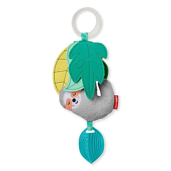 SkipHop Tropical Paradise Jitter Sloth Activity Toy