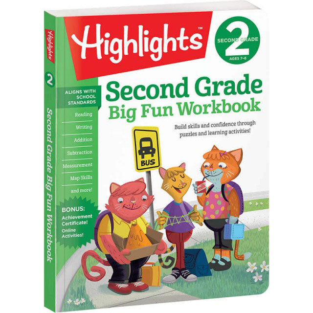 Big Fun Second Grade Workbook