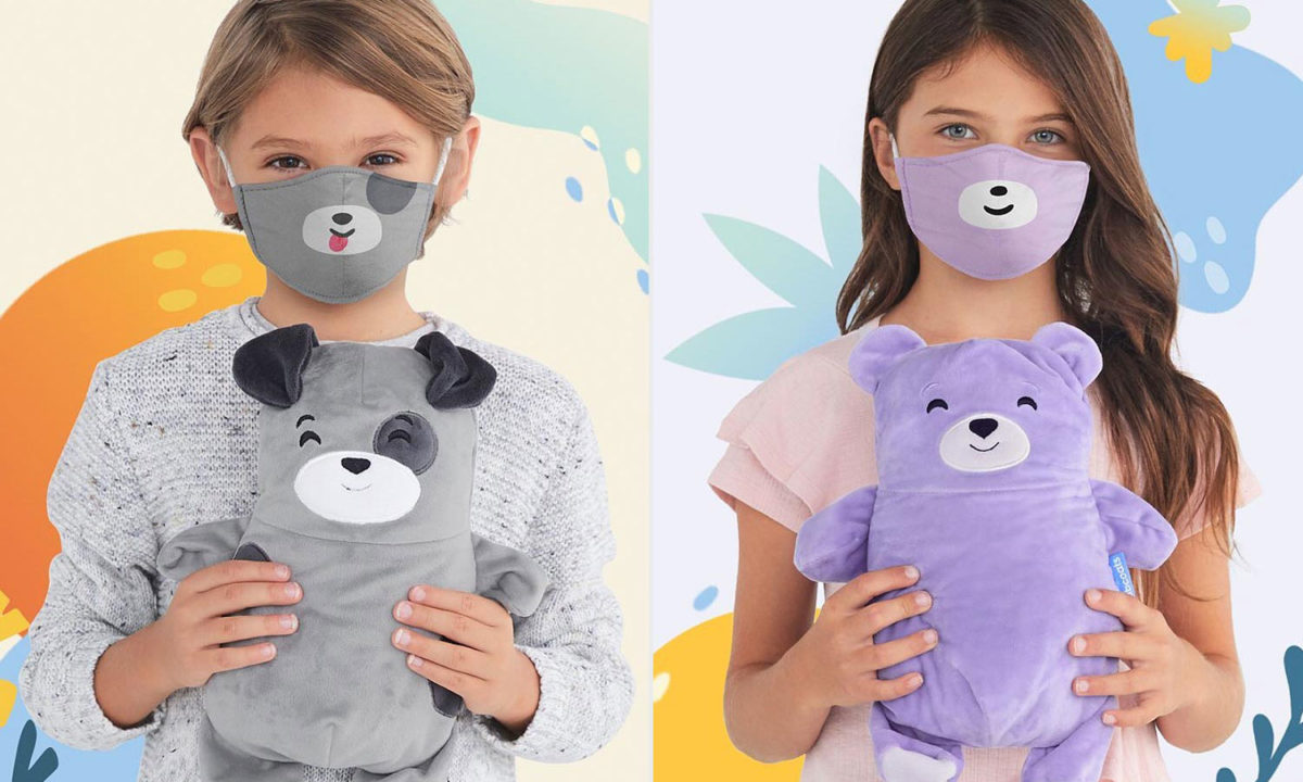 This Celeb-Loved Brand Is Making Adorable Animal Cloth Face Masks for Kids