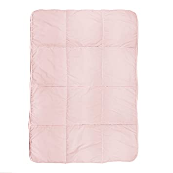 Toddler Pink Quilted Comforter