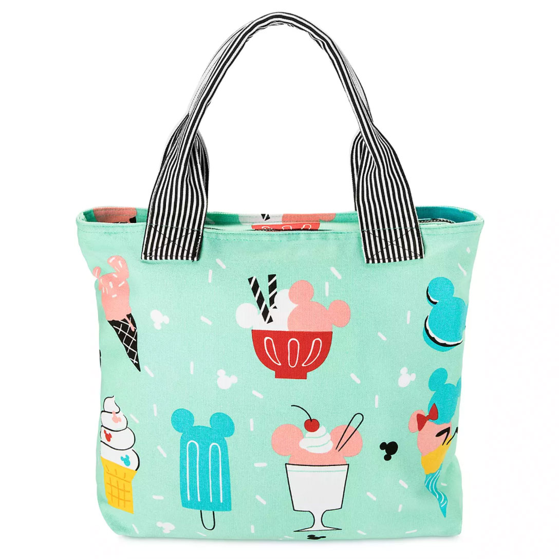 Mickey and Minnie Mouse Treats Canvas Tote
