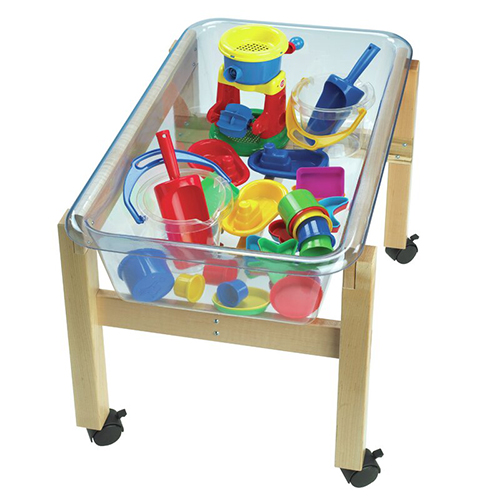 Childcraft Mobile Mini Sand & Water Table