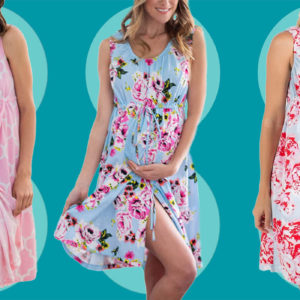 Amazon's Best-Selling Maternity Nightgown Has a Hidden Feature Reviewers Rave About