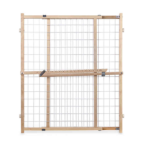 Toddleroo by North States Extra-Wide Wire Mesh Gate