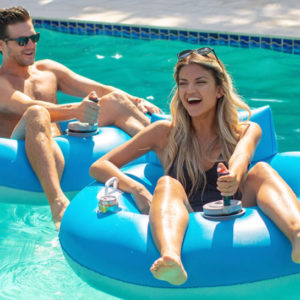 This Motorized Pool Float Is Better Than a Trip to the Water Park