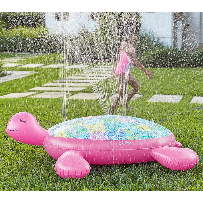 Lilly Pulitzer Inflatable Sprinkler In Cheek To Cheek