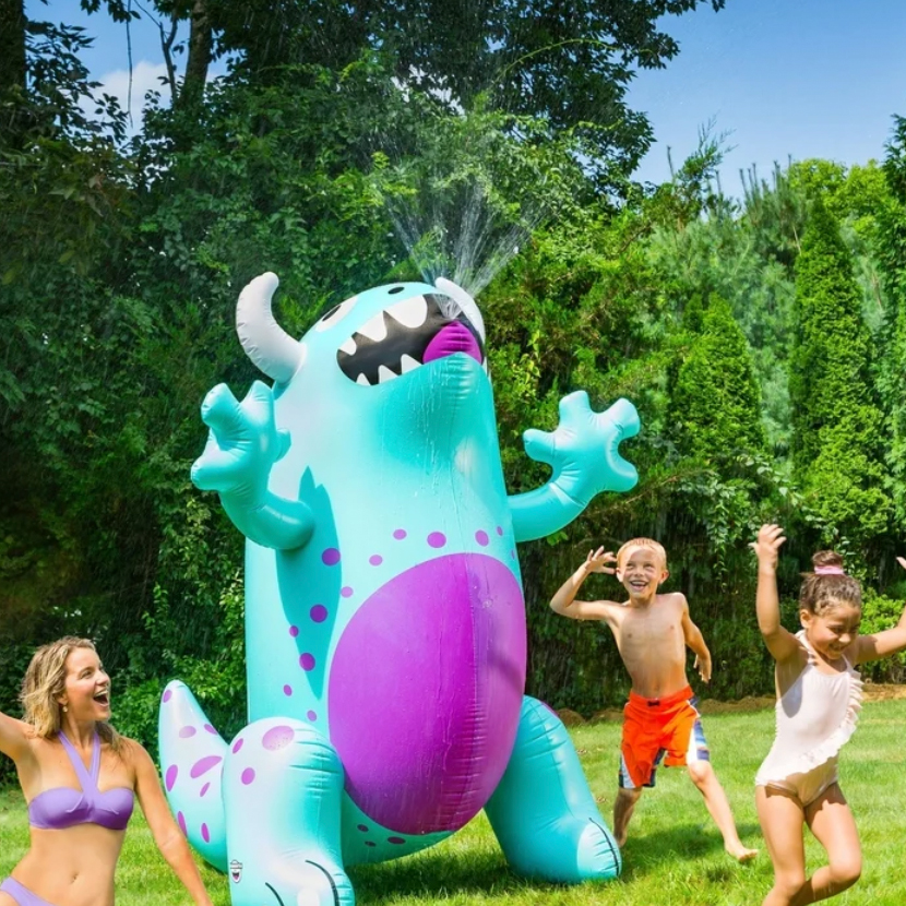 BigMouth Inc. Inflatable Monster Yard Sprinkler