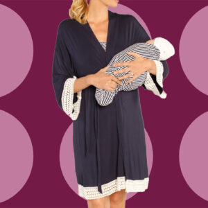 Nordstrom Shoppers Love How 'Put Together' They Feel in This Maternity Nightgown
