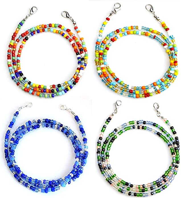 BeadChica Face Mask Lanyard with Clips