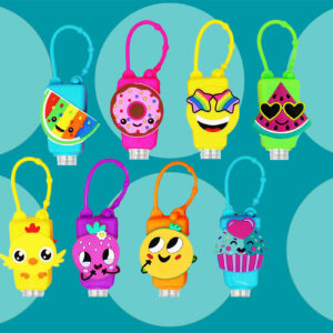 10 Hand Sanitizer Holders and Keychains for Kids to Make Staying Germ-Free Fun