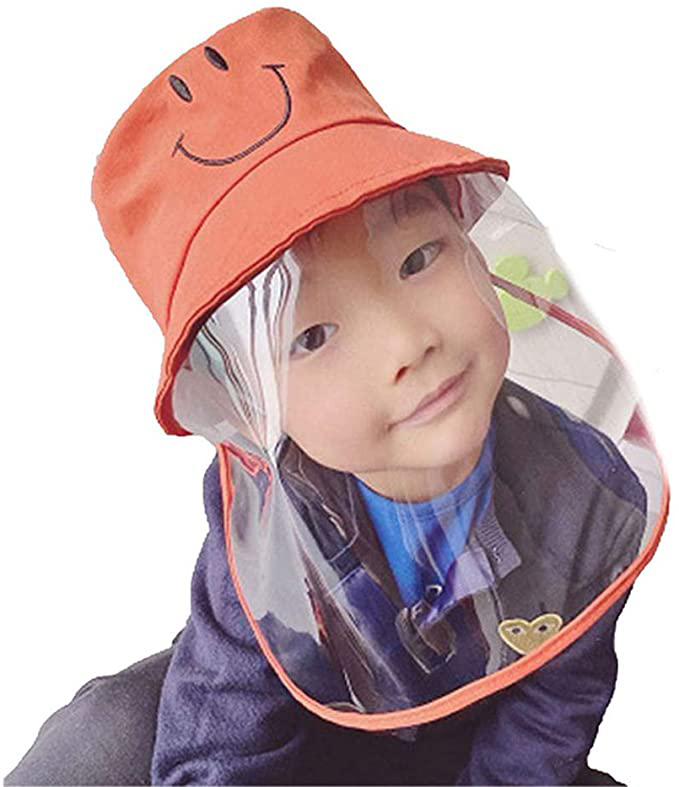 Kids Protective Hat With Removable Full Face Shield