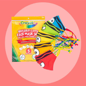Crayola's New Face Mask System for Kids Is This Year's Must-Have Back-to-School
