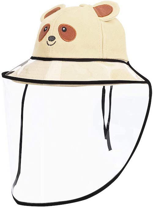Kids Bucket Hat, UV-Proof with Clear Detachable Film