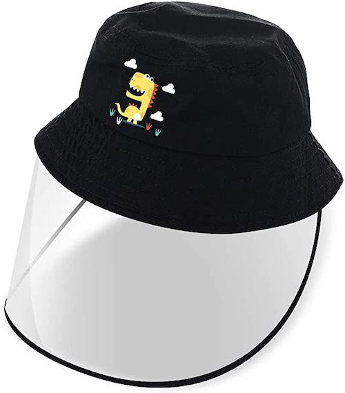 Kids Sun Hat with Removable Full Shield
