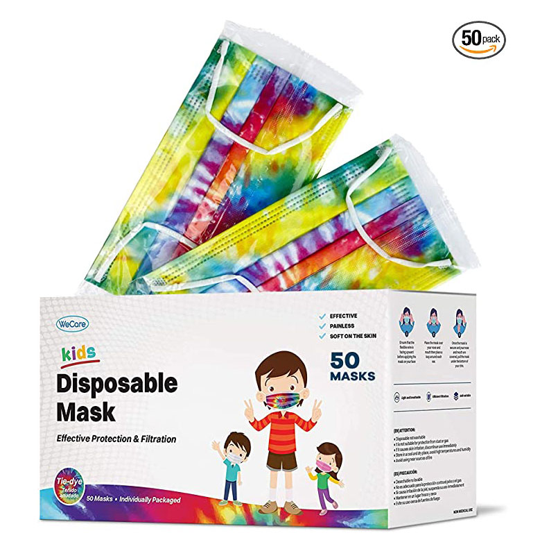 WeCare Kids Disposable Face Mask (Pack of 50)