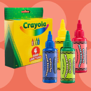 Crayola Just Launched Colorful Hand Sanitizers for Kids That Meet the CDC's Standards