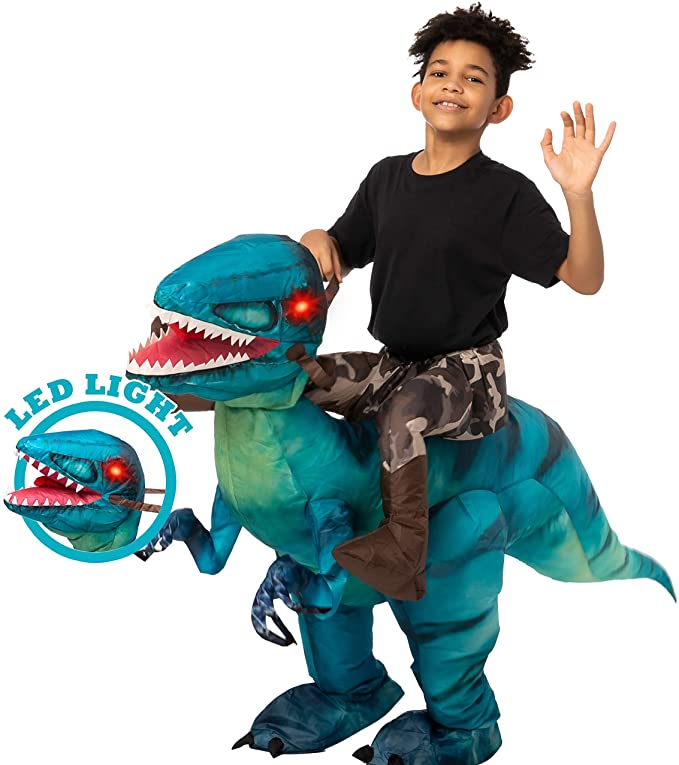 Spooktacular Creations Inflatable Halloween Costume Ride A Raptor