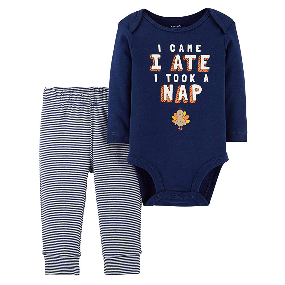 Carter's Baby 2-Piece Thanksgiving Bodysuit Pant Set