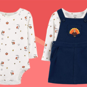 10 Adorable Outfits to Celebrate Your Baby's First Thanksgiving