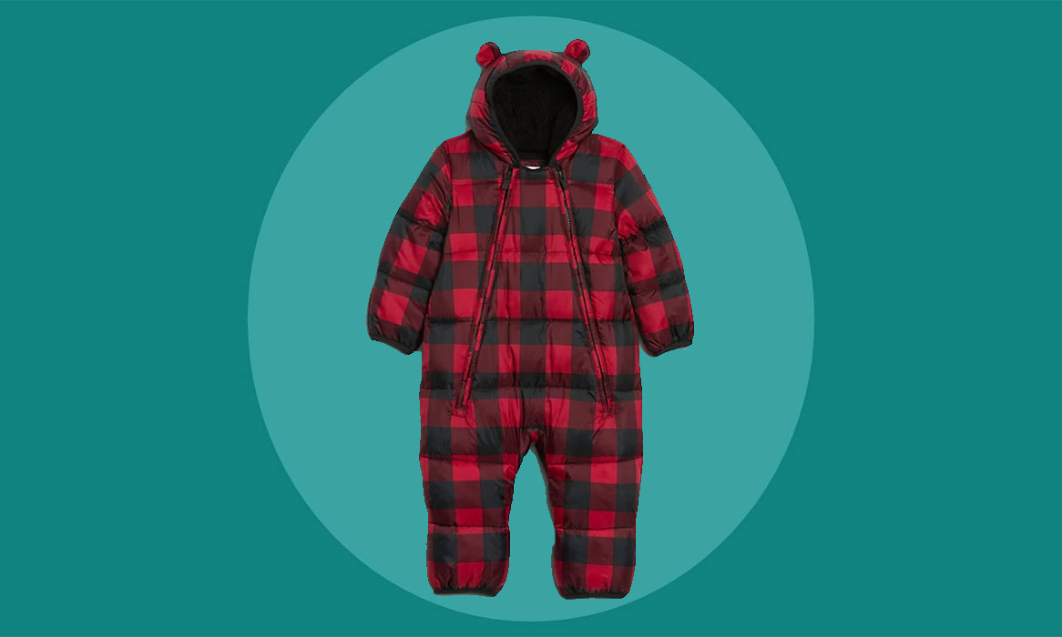 These Warm Winter Snowsuits Are Perfect for Babies and Toddlers