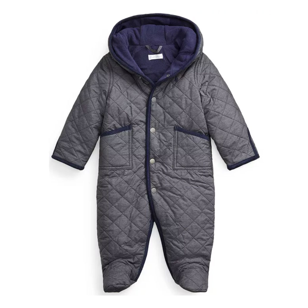 Ralph Lauren Baby Boys Quilted Barn Bunting