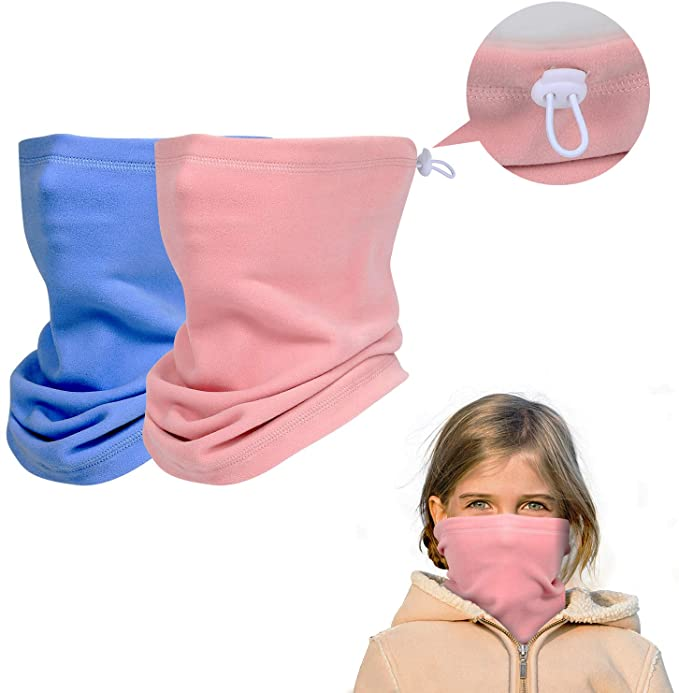Two-Pack Kids Winter Neck Gaiter