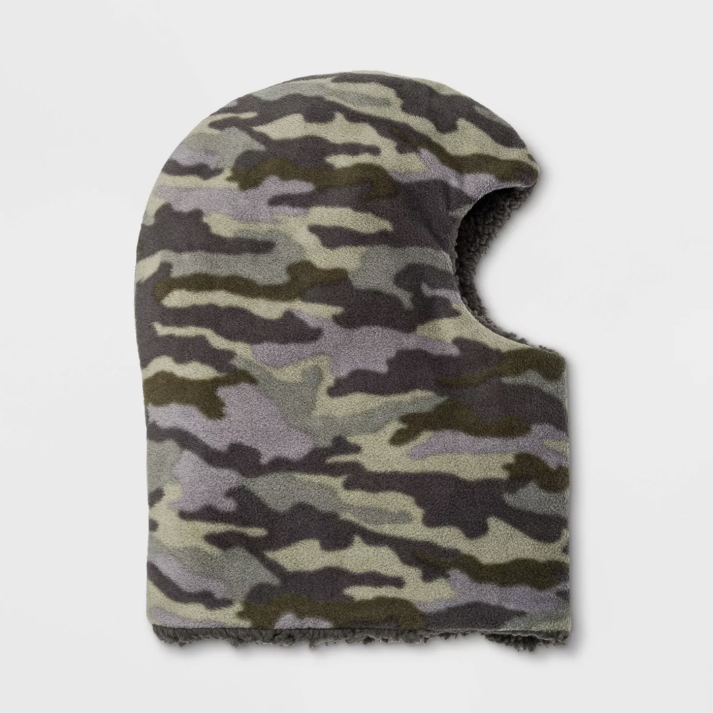 Boys' Camo Fleece Lined Balaclava - Cat & Jack