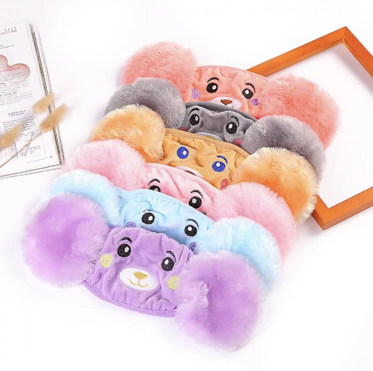Kids Winter Face Mask With Earmuffs