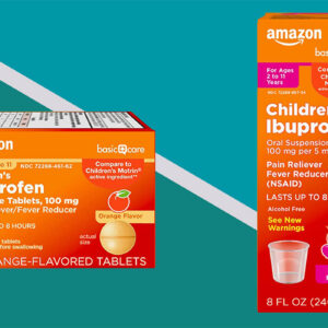 Amazon's Easy-to-Take Children's Ibuprofen Comes in More Than Just the Dreaded Grape Flavor
