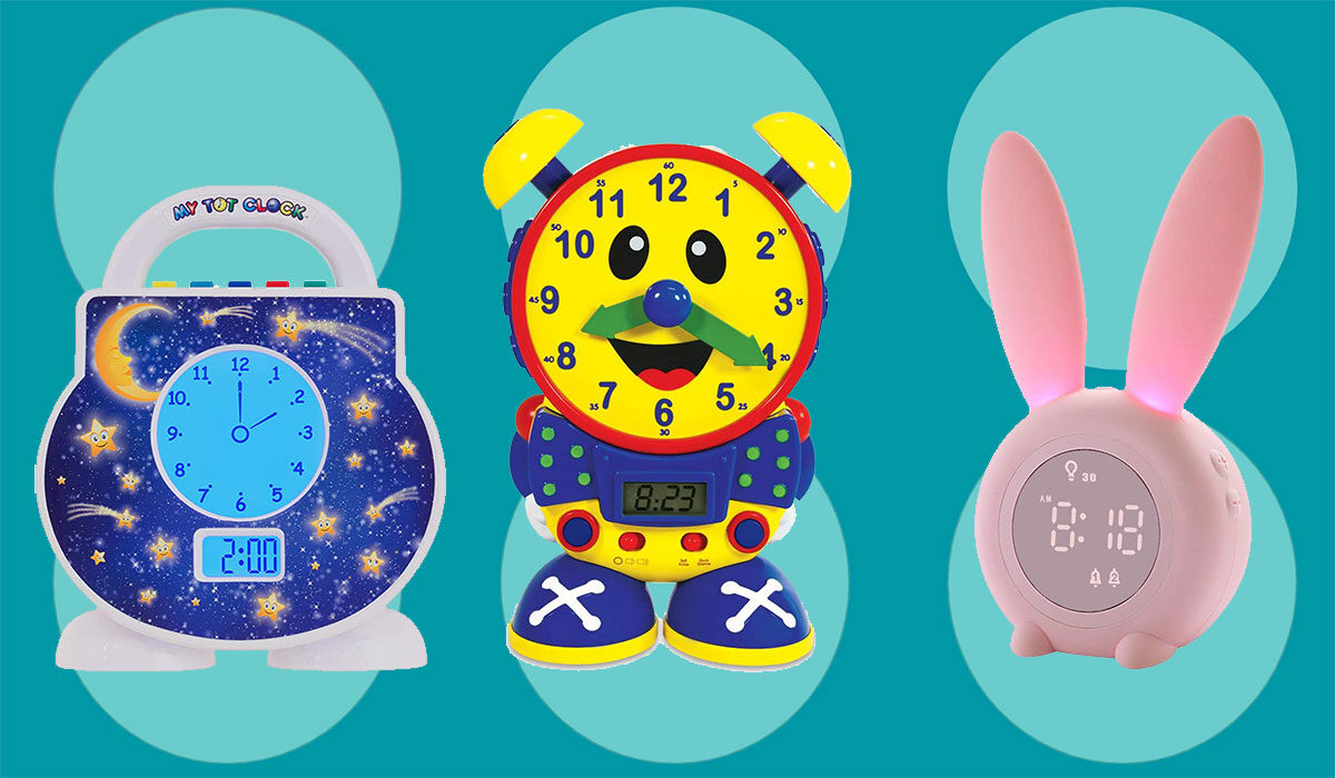 The 8 Best Alarm Clocks for Kids, From Toddlers to Teens